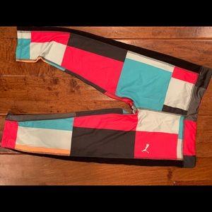 BNWT puma kids capris workout pants. - size large